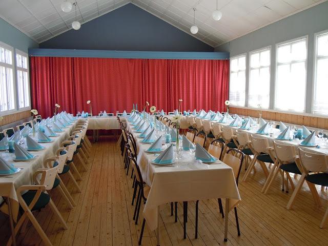 Spisesal til fest og glede